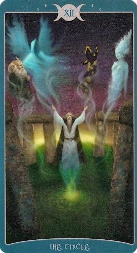 Ý nghĩa lá XII. The Circle trong bộ Book of Shadows Tarot - As Above