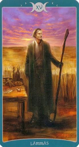 Ý nghĩa lá XV. Lammas trong bộ Book of Shadows Tarot - As Above