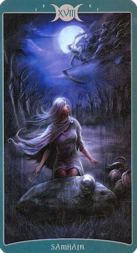 Ý nghĩa lá XVIII. Samhain trong bộ Book of Shadows Tarot - As Above