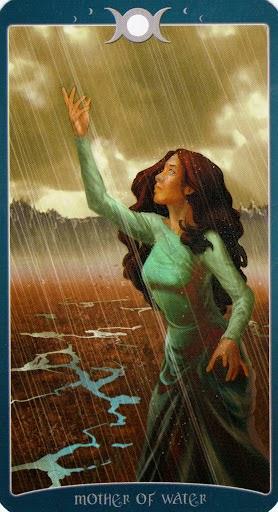 Ý nghĩa lá Mother of Water trong bộ Book of Shadows Tarot - As Above
