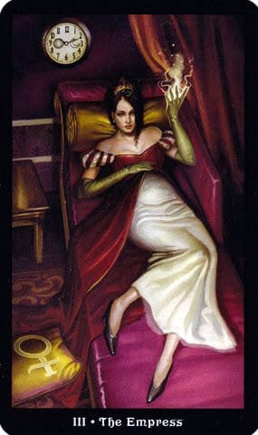Ý nghĩa lá III - The Empress trong bộ Steampunk Tarot