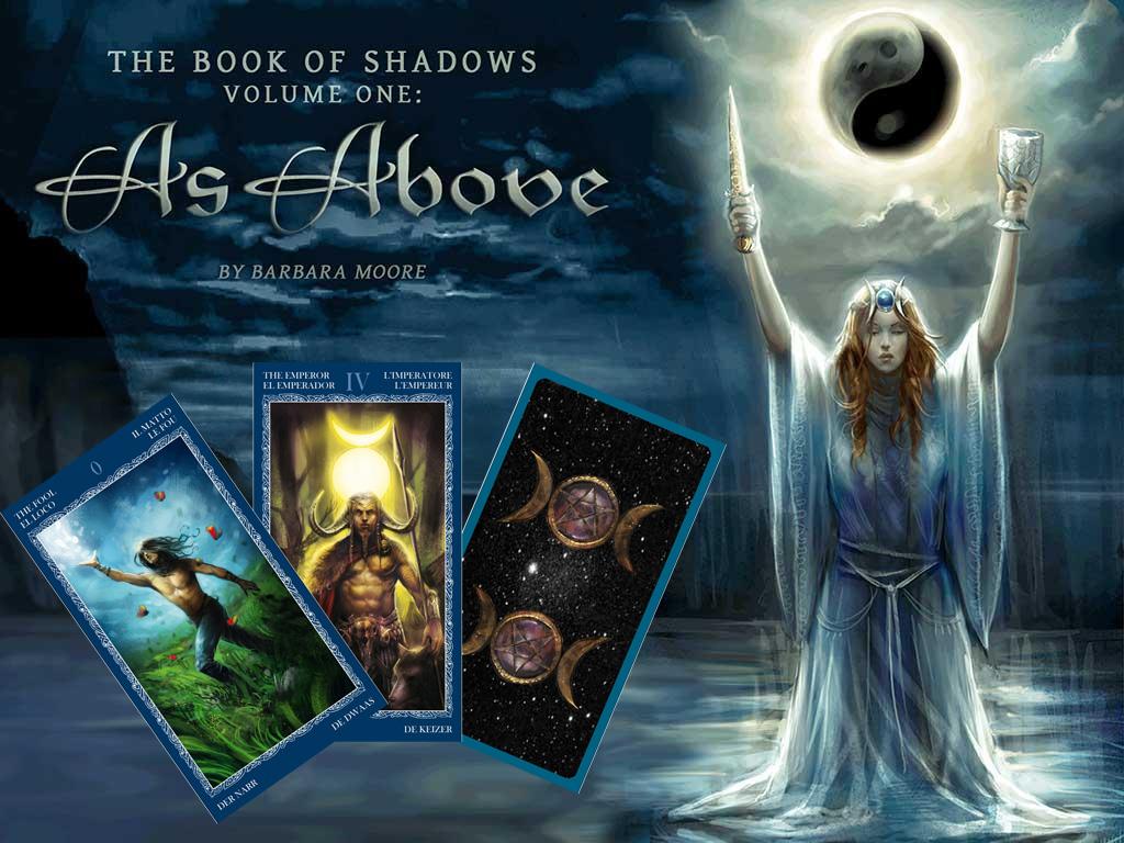 Book of Shadows Tarot (As Above) – Sách Hướng Dẫn