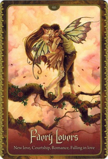 Ý nghĩa lá Faery Lovers trong bộ Wild Wisdom of The Faery Oracle