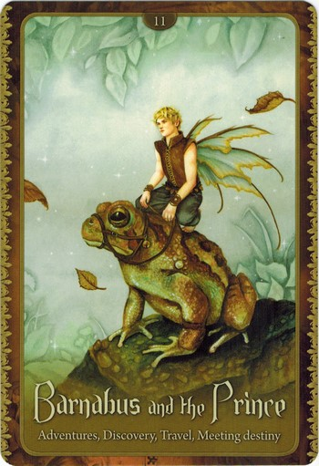 Lá Barnabus and The Prince - Wild Wisdom of The Faery Oracle