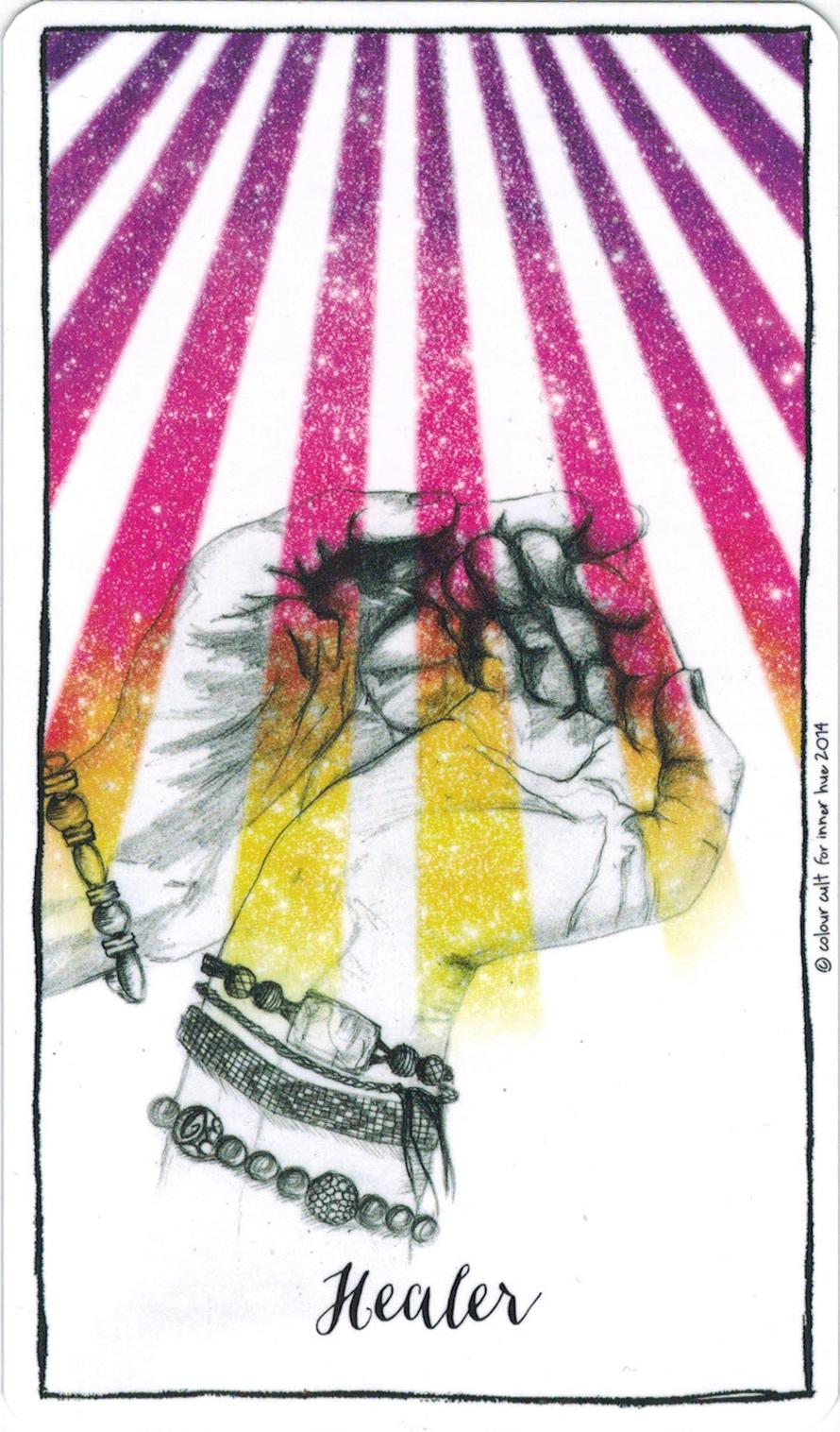 Ý nghĩa lá Healer trong bộ bài Connected & Free - The Alchemist's Oracle