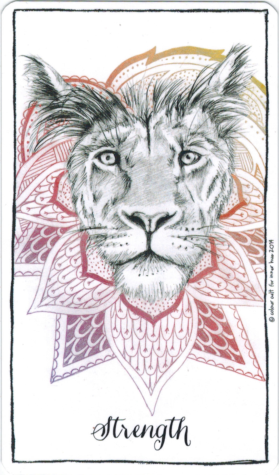 Ý nghĩa lá Strength trong bộ bài Connected & Free - The Alchemist's Oracle
