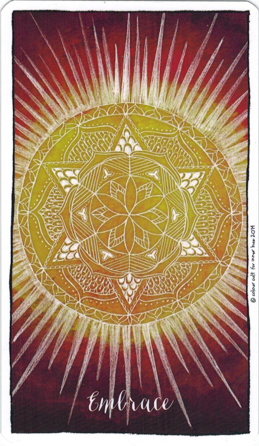 Ý nghĩa lá Embrace trong bộ bài Connected & Free - The Alchemist's Oracle