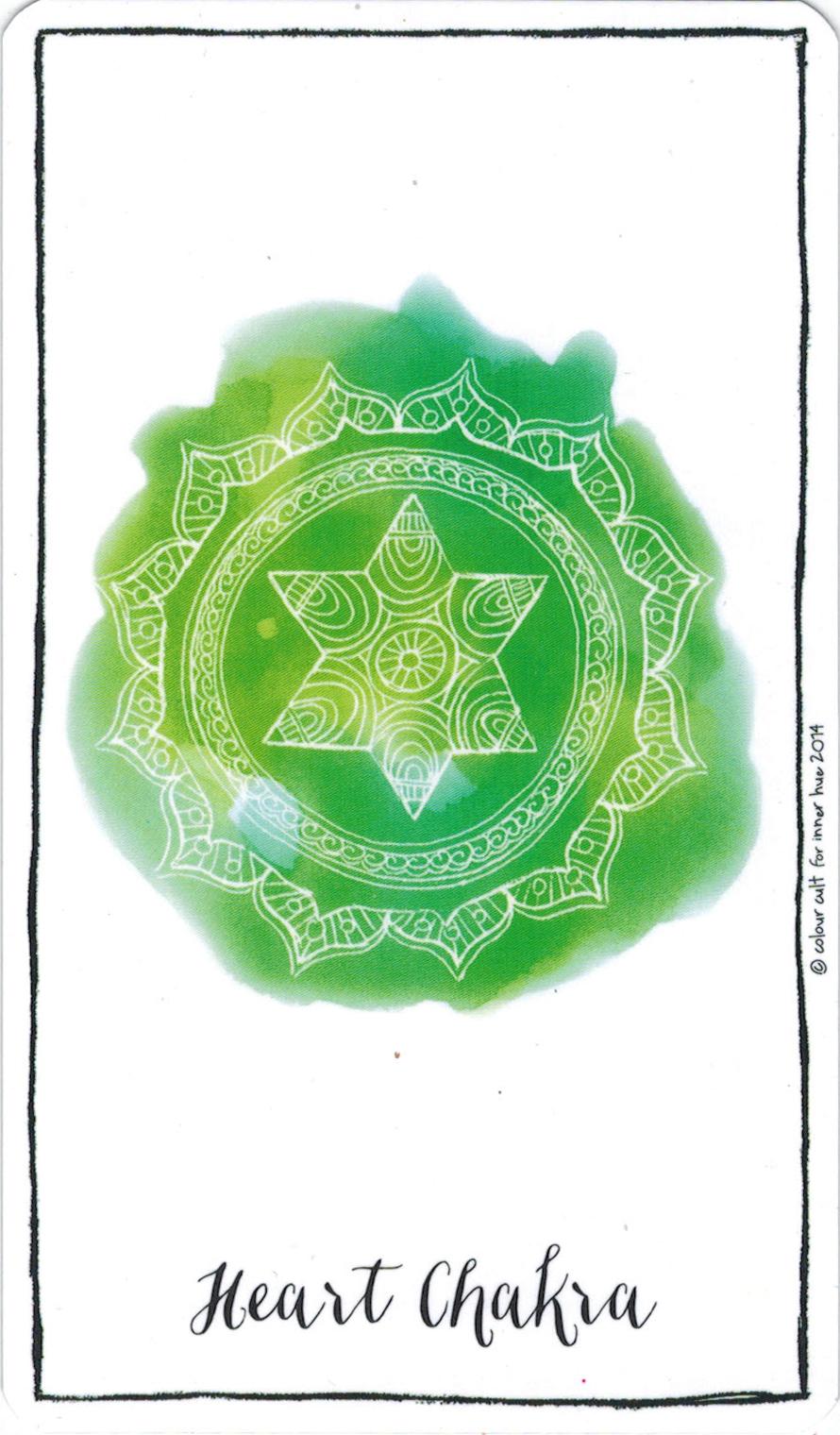 Ý nghĩa lá Heart Chakra trong bộ bài Connected & Free - The Alchemist's Oracle