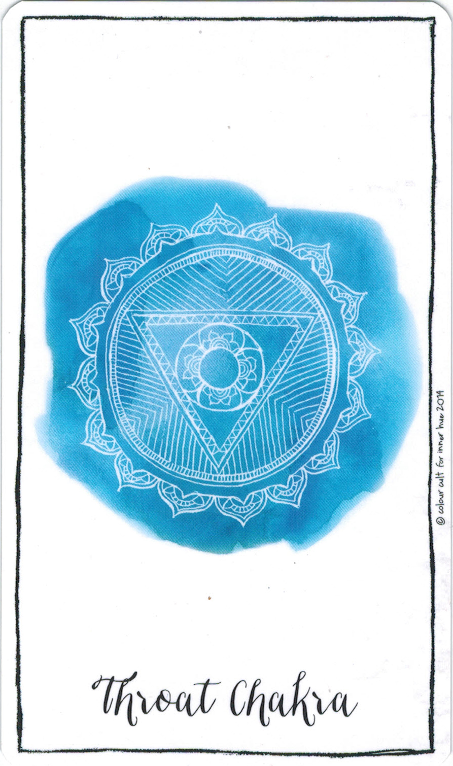 Ý nghĩa lá Throat Chakra trong bộ bài Connected & Free - The Alchemist's Oracle