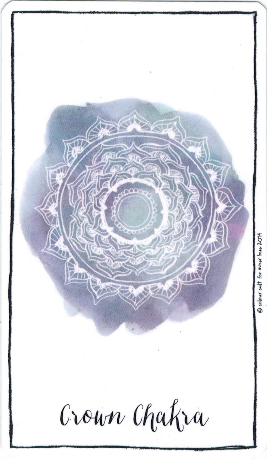 Ý nghĩa lá Crown Chakra trong bộ bài Connected & Free - The Alchemist's Oracle