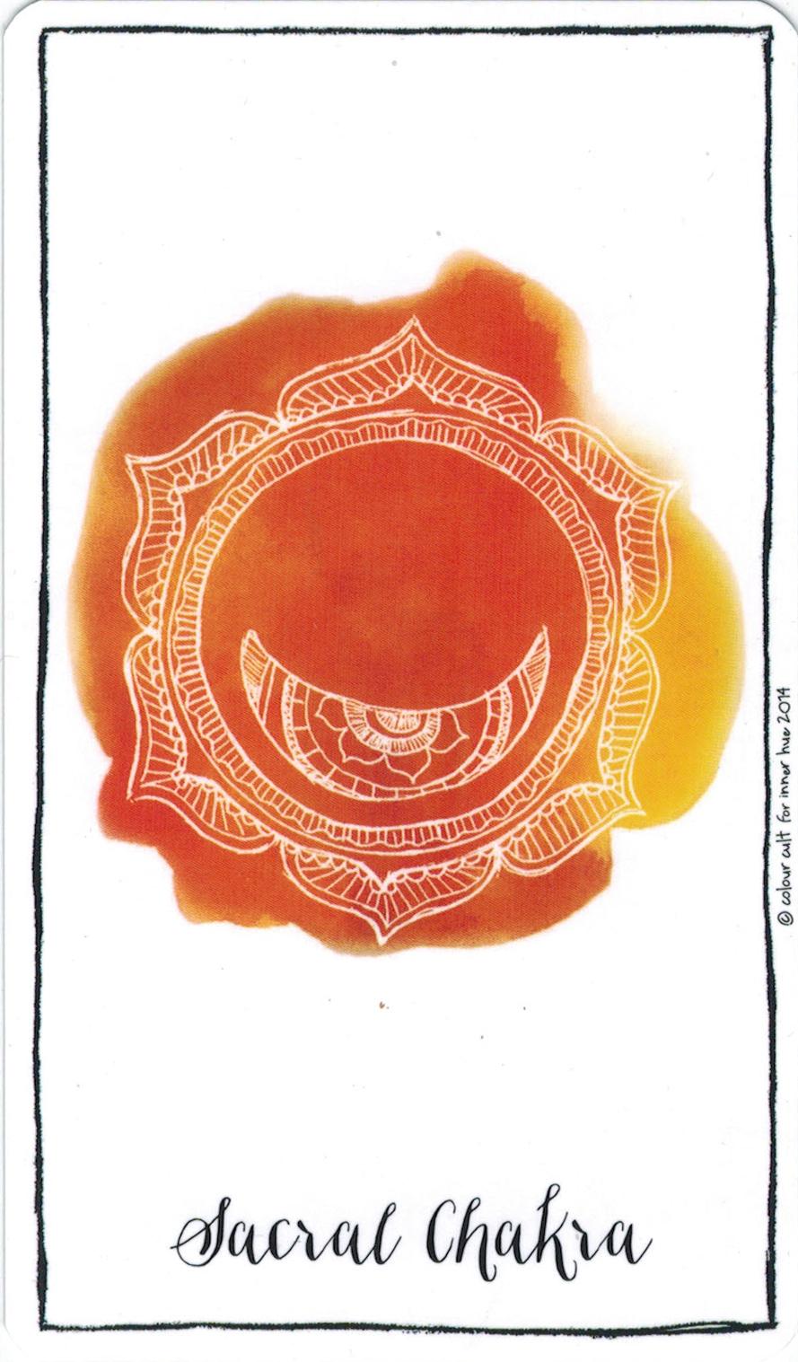 Ý nghĩa lá Sacral Chakra trong bộ bài Connected & Free - The Alchemist's Oracle