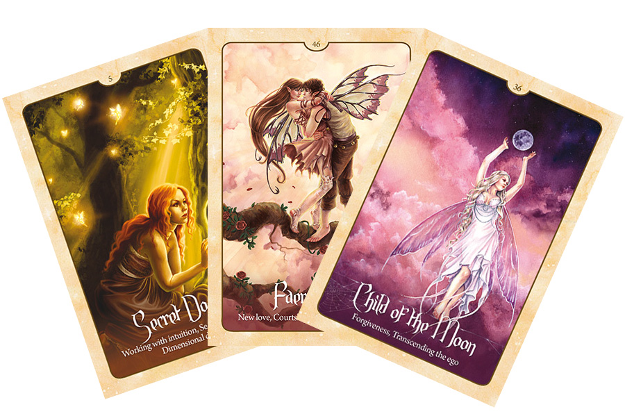Wild Wisdom of the Faery Oracle – Sách Hướng Dẫn