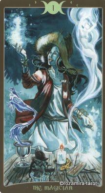 Ý nghĩa lá I. The Magician trong bộ Book of Shadows Tarot - So Below