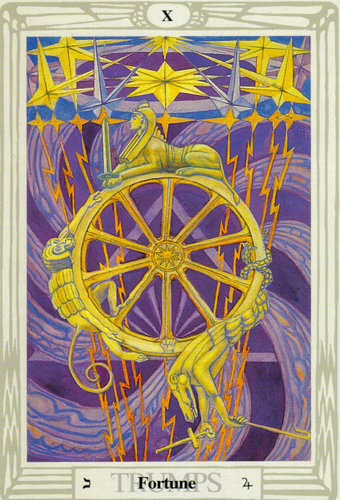Fortune – Aleister Crowley Thoth Tarot