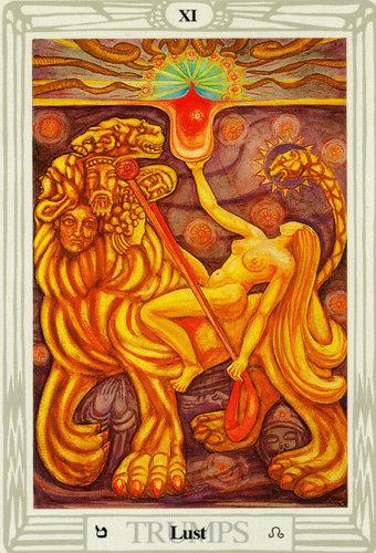 Ý nghĩa lá Lust trong bộ bài Thoth Tarot