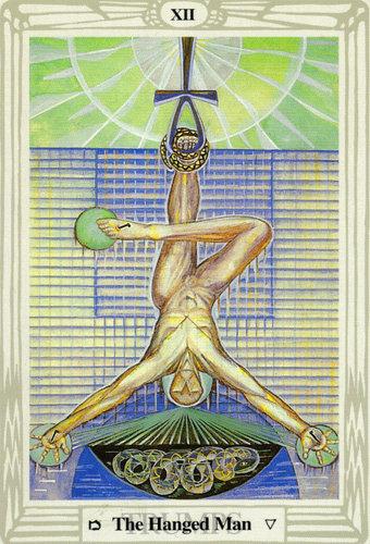 Ý nghĩa lá The Hanged Man trong bộ bài Thoth Tarot