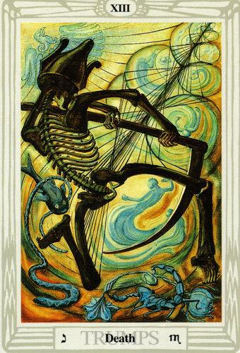 Ý nghĩa lá Death trong bộ bài Thoth Tarot