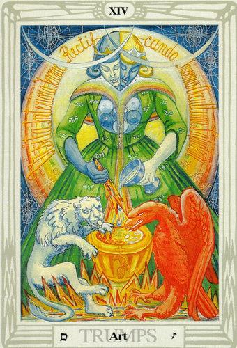 Ý nghĩa lá Art trong bộ bài Thoth Tarot