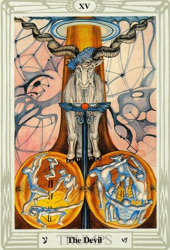 Ý nghĩa lá The Devil trong bộ bài Thoth Tarot