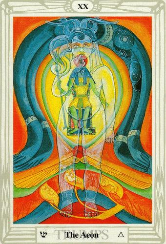Ý nghĩa lá The Aeon trong bộ bài Thoth Tarot