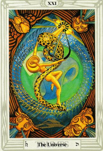 Ý nghĩa lá The Universe trong bộ bài Aleister Crowley Thoth Tarot