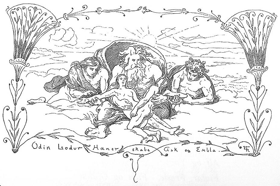 Thần thoại bắc âu - kiến tạo thế giới
