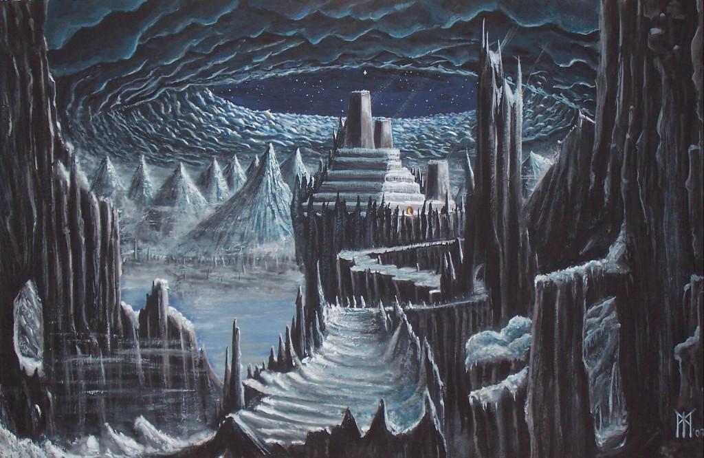 Jötunheimr (2007) – tranh của Miroslav Zapletal