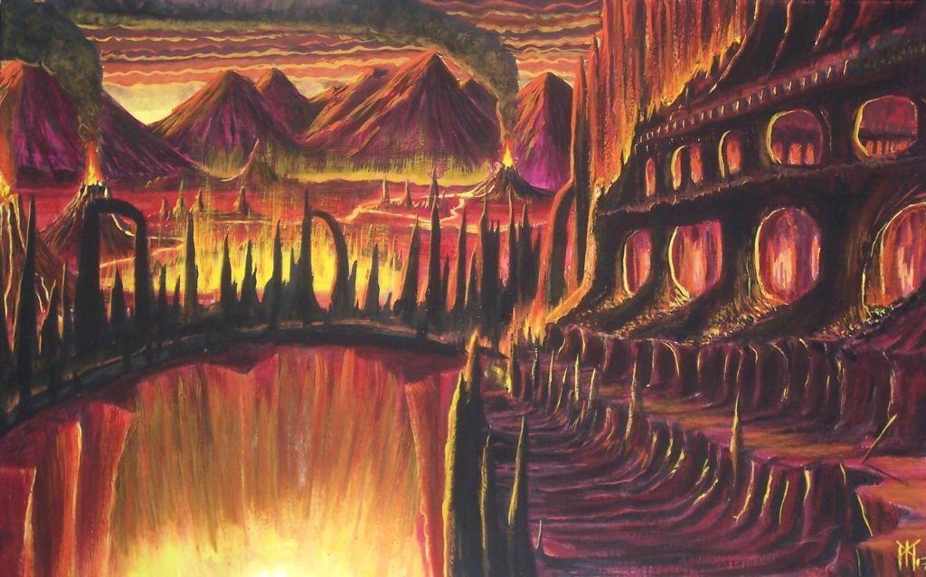 Múspellsheimr (2007) – tranh của Miroslav Zapletal