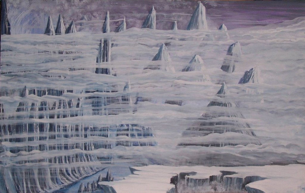 Niflheimr (2007) – tranh của Miroslav Zapletal