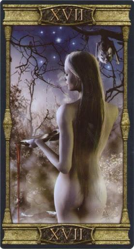 Ý nghĩa lá XVII. The Star trong bộ bài Vampires Tarot of the Eternal Night