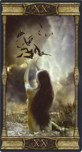 Ý nghĩa lá XX. Judgement trong bộ bài Vampires Tarot of the Eternal Night