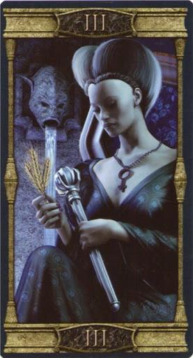 Ý nghĩa lá III. The Empress trong bộ bài Vampires Tarot of the Eternal Night