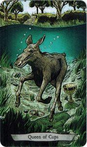 13Cups Animal Totem Tarot - Sách Hướng Dẫn