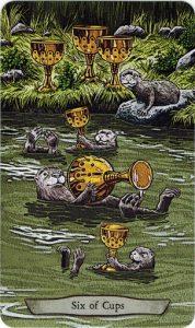 6Cups Animal Totem Tarot - Sách Hướng Dẫn