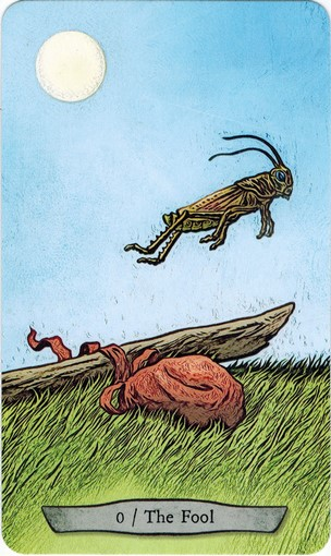 Lá 0. The Fool – Animal Totem Tarot