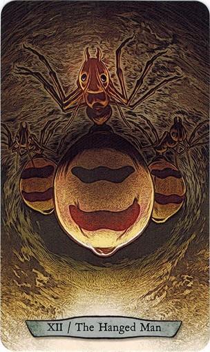 Lá XII. The Hanged Man – Animal Totem Tarot
