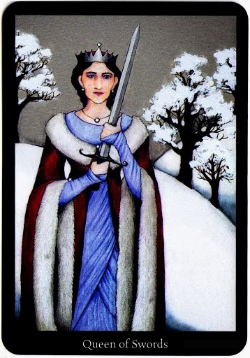 Lá Queen of Swords – Anna K Tarot