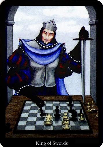 Lá King of Swords – Anna K Tarot