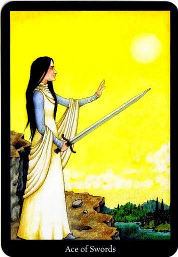 Lá Ace of Swords – Anna K Tarot