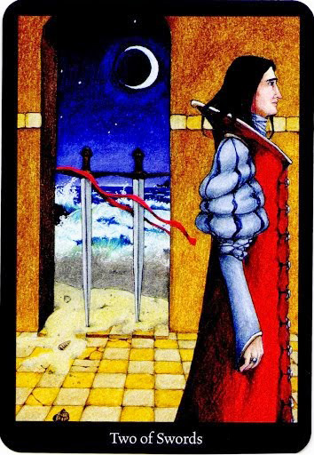 Lá Two of Swords – Anna K Tarot