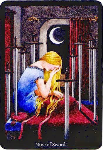 Lá Nine of Swords – Anna K Tarot