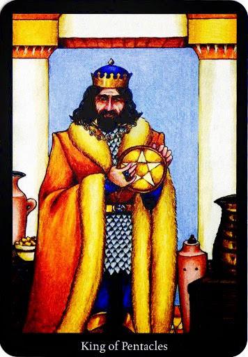 Lá King of Pentacles – Anna K Tarot