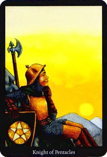 Lá Knight of Pentacles – Anna K Tarot