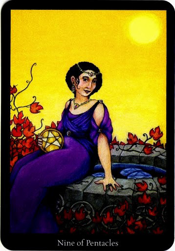 Lá Nine of Pentacles – Anna K Tarot
