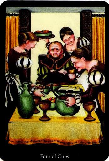 Lá Four of Cups – Anna K Tarot