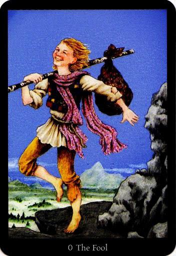Lá The Fool – Anna K Tarot