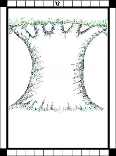 Lá The Hierophant trong bộ bài Transparent Tarot