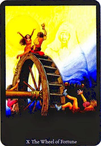 Lá The Wheel of Fortune – Anna K Tarot