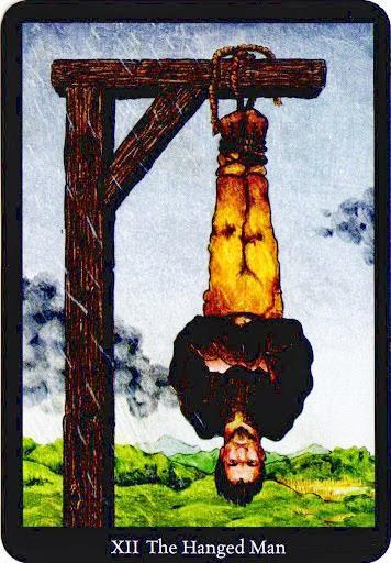 Lá The Hanged Man – Anna K Tarot