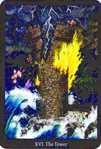 Lá The Tower – Anna K Tarot